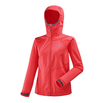 Chaqueta mujer TOURING SHIELD poppy red