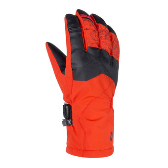 Gants homme ATNA PEAK DRYEDGE orange