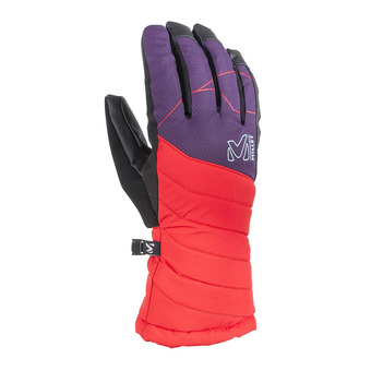 Guantes mujer ATNA PEAK DRYEDGE poppy red/black berry