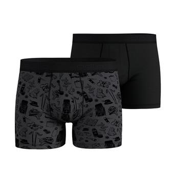 Lot de 2 boxers homme ACTIVE SUMMER SPLASH odlo graphite grey