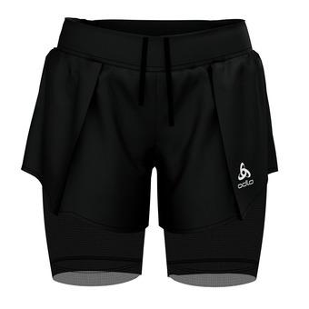 Odlo ZEROWEIGHT - 2 in 1 Shorts - Women's - black