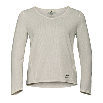 Odlo LOU - Camiseta mujer light heather grey