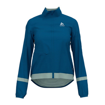 Odlo FUJIN LIGHT - Jacket - Women's - mykonos blue/surf spray