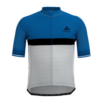 Odlo ZEROWEIGHT CERAMICOOL PRO - Jersey - Men's - nebulas blue/white