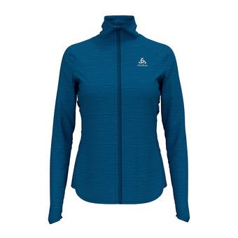 Odlo STEAM - Sweatshirt - Women's - mykonos blue marl