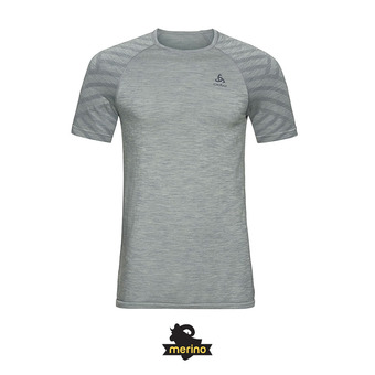 Odlo KINSHIP SEAMLESS - Camiseta hombre heather grey