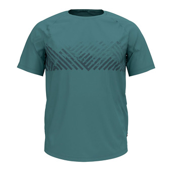 Odlo CONCORD - T-Shirt - Men's - arctic/mountain print