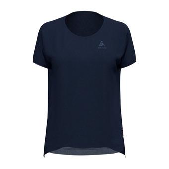 Odlo CERAMIWOOL - Camiseta mujer diving navy