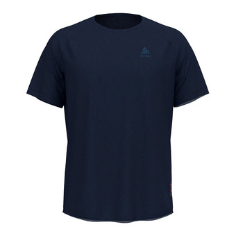 Odlo CERAMIWOOL - Tee-shirt Homme diving navy