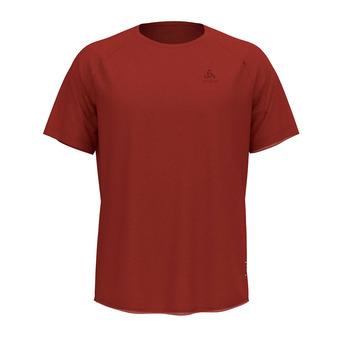 Odlo CERAMIWOOL - Camiseta hombre chili oil