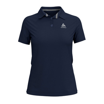 Polo MC femme F-DRY diving navy