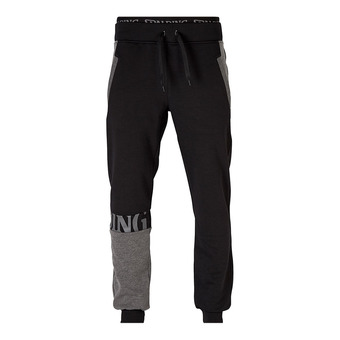 Spalding STREET - Pantalón de chándal hombre negro/antracita jaspeado