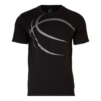 Spalding STREET - Tee-shirt Homme noir