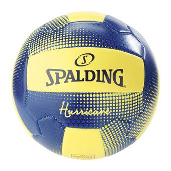 Spalding HURRICANE - Balón de vóley playa amarillo flúor/marino