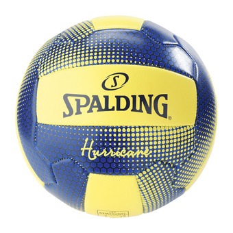 Spalding HURRICANE - Beach volleyball yellow fluo/navy