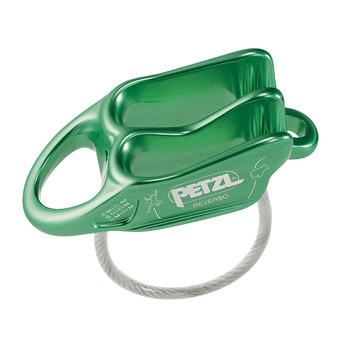 Petzl REVERSO - Assureur-descendeur vert