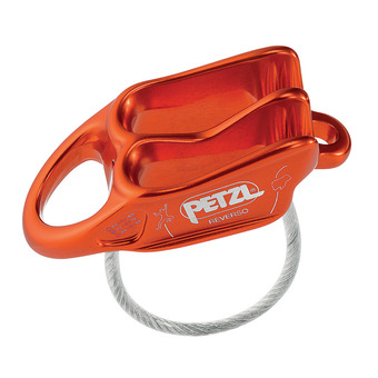 Petzl REVERSO - Belay Device - red