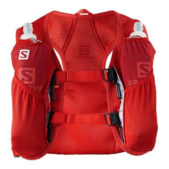 Salomon AGILE 2L - Chaleco de hidratación fiery red