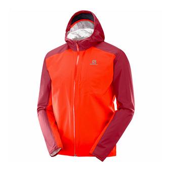 Jacket - Men's - BONATTI WP fiery red/biking red