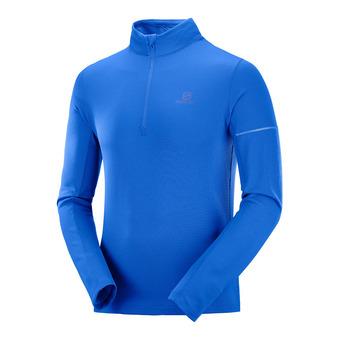 Sous-couche ML 1/2 zip homme AGILE HZ MID nautical blue/blithe