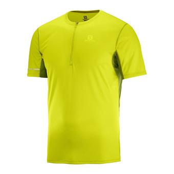 Camiseta hombre AGILE HZ citronelle