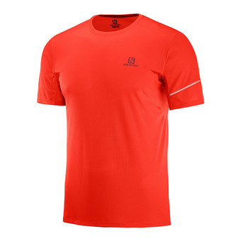 Camiseta hombre AGILE fiery red
