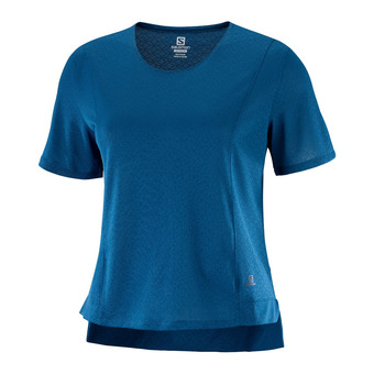 T Shirt ELEVATE AERO TEE W Poseidon Femme Poseidon