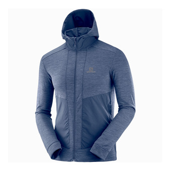Salomon OUTLINE - Sudadera hombre night sky heather