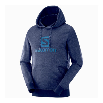 Salomon LOGO - Sweat Homme night sky
