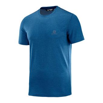 Salomon EXPLORE PIQUE - Camiseta hombre poseidon