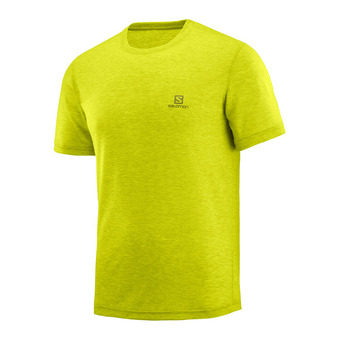 Salomon EXPLORE - Camiseta hombre citronelle