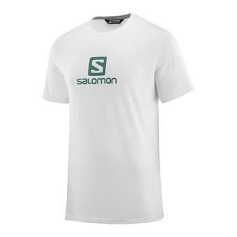 Salomon LOGO - Tee-shirt Homme white