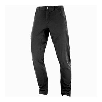 Salomon WAYFARER TAPERED - Pants - Men's - black