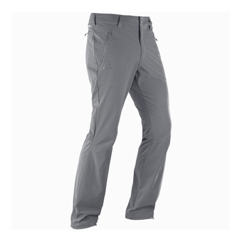 Salomon WAYFARER STRAIGHT - Pantalon Homme forged iron