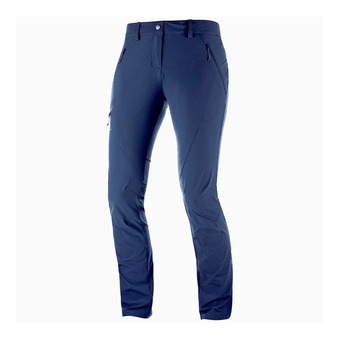 Salomon WAYFARER TAPERED - Pants - Women's - night sky