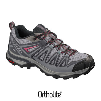 Hiking Shoes - Women's - X ULTRA 3 PRIME alloy/ebony/mala