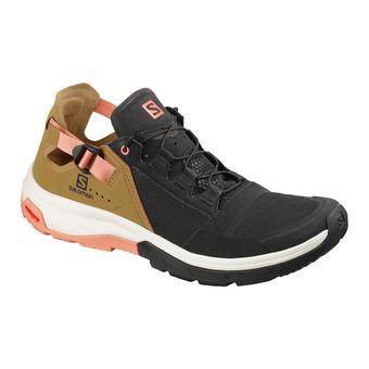Salomon TECHAMPHIBIAN 4 - Zapatillas impermeables mujer bk/bistre/tawny