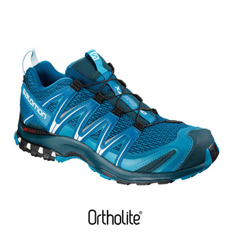 Salomon XA PRO 3D - Chaussures trail Homme mykonos bl/reflecting/wh