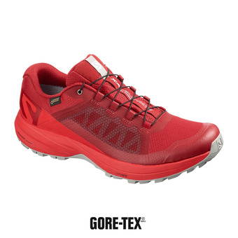 Salomon XA ELEVATE GTX - Zapatillas de trail hombre rd dahlia/high risk