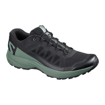 Salomon XA ELEVATE - Zapatillas de trail hombre black/balsam green/bk
