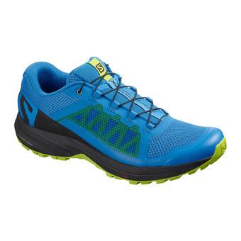 Salomon XA ELEVATE - Chaussures trail Homme indigo bun/bk/lime gree