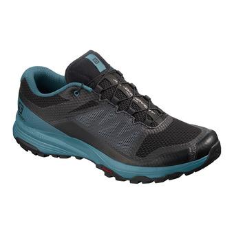 Salomon XA DISCOVERY - Chaussures trail Homme black/mallard blue/ebony