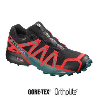 Zapatillas de trail hombre SPEEDCROSS 4 GTX® bk/high risk /med