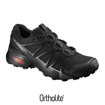 Salomon SPEEDCROSS VARIO 2 - Zapatillas de trail hombre black/black/si