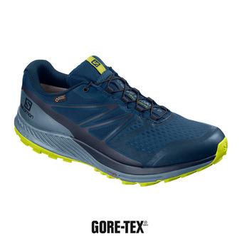 Salomon SENSE ESCAPE 2 GTX - Zapatillas de trail hombre poseidon/navy