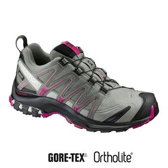 Chaussures trail femme XA PRO 3D GTX®  shadow/bk/sangria
