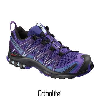 Zapatillas de trail mujer XA PRO 3D bl/parachute /bk