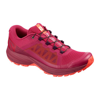 Salomon XA ELEVATE - Chaussures trail Femme cerise/beet red/coral