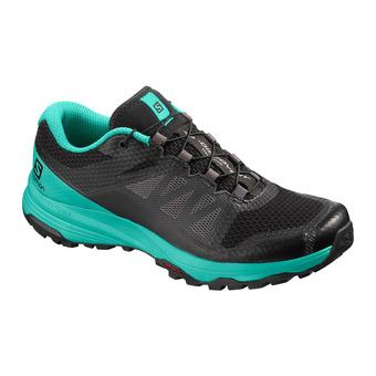 Salomon XA DISCOVERY - Zapatillas de trail mujer bk/atlantis/magnet
