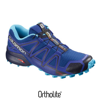 Salomon SPEEDCROSS 4 - Zapatillas de trail mujer maz blue/navy blaze
